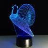 3D Snail LED Lamp - 3D Led Lamps