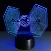 3D Tie Fighter LED Lamp - 3D Led Lamps