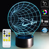 3D Time Tunnel LED Lamp - 3D Led Lamps