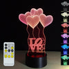 Happy Birthday 3D LED Lamp - 3D Led Lamps