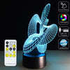 3D Dancing LED Lamp - 3D Led Lamps