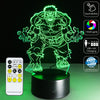 The 3D Hulk LED Lamp - 3D Led Lamps