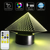 3D Pyramid LED Lamp - 3D Led Lamps