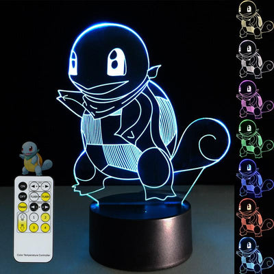3D Poke mon Illusion LED Lamp - 3D Led Lamps