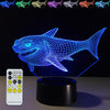 3D Shark LED Lamp - 3D Led Lamps