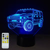 3D Truck Illusion Lamp - 3D Led Lamps