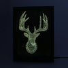3D Buck LED Photo Frame Lamp - 3D Led Lamps