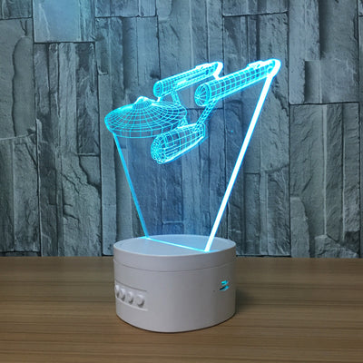 3D Bluetooth Enterprise lamp - 3D Led Lamps