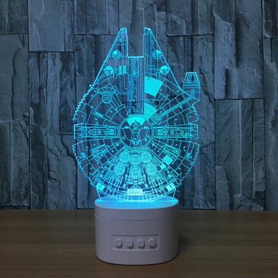 3D Bluetooth Star Wars lamp - 3D Led Lamps