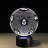 3D Football Madrid LED Lamp - 3D Led Lamps