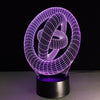 3D Circles LED Lamp - 3D Led Lamps