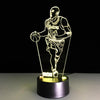 3D Kobe MVP LED Lamp - 3D Led Lamps