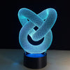 Creative 3D Love Knot LED Lamp - 3D Led Lamps