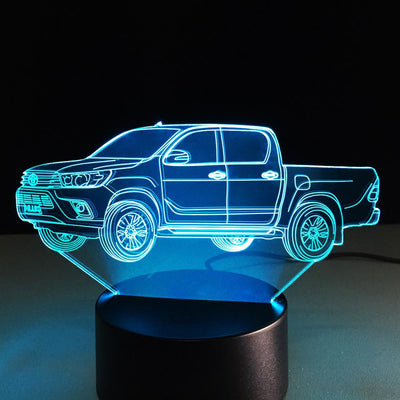 3D Picard Illusion Lamp - 3D Led Lamps