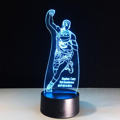 3D Curry MVP LED Lamp - 3D Led Lamps