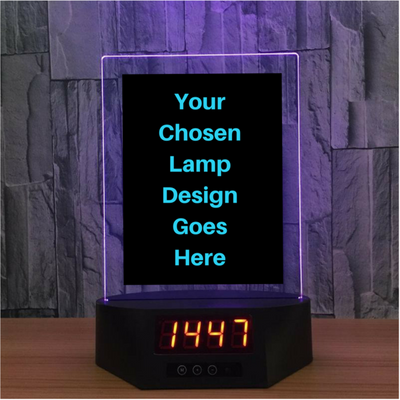 3D The Cross Lamp Illusion Light Multiple Colors - 3D Led Lamps