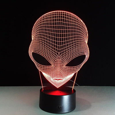 3D Alien Illusion LED Lamp - 3D Led Lamps