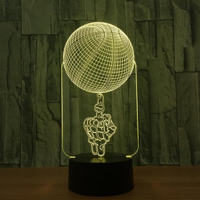 3D Basketball Slum Dunk Illusion LED Lamp - 3D Led Lamps