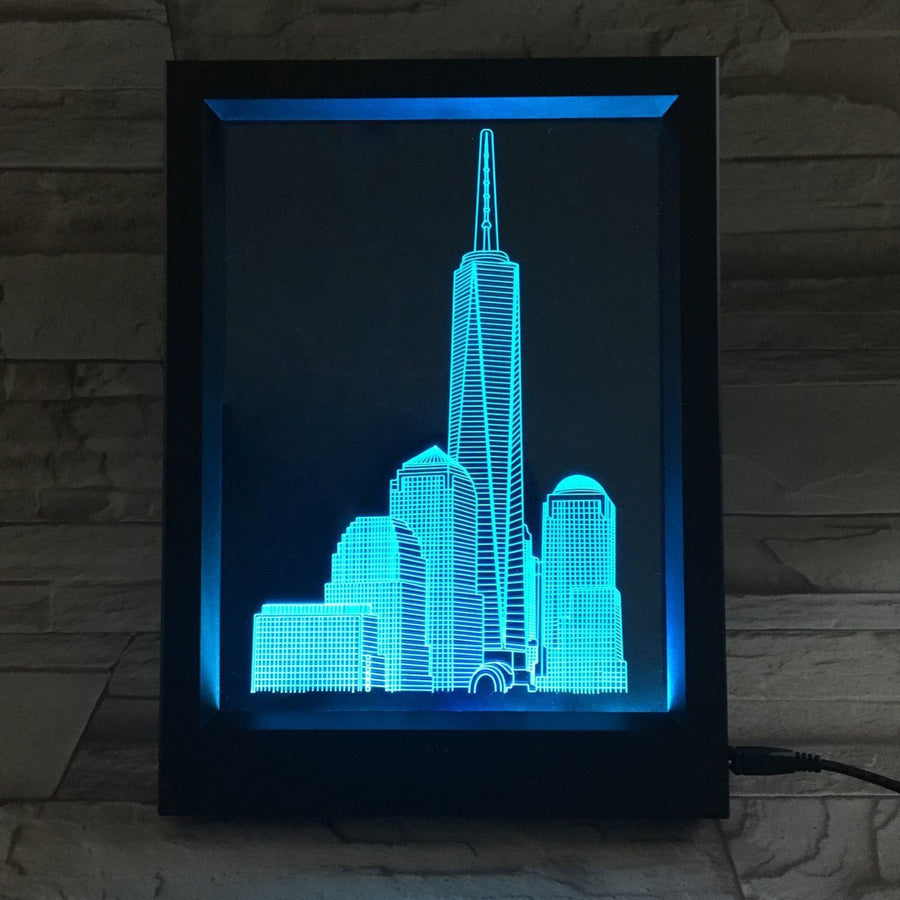 3D Illusion Photo Frame Lamps - LEDmyroom