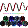 USB LED Strip 5050 RGB Music controller Sound sensor with RF Remote IP20/IP65 Music LED Strip Light - 3D Led Lamps