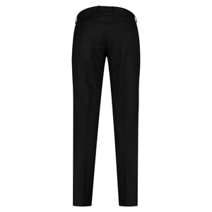 Back perspective for black pants