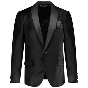 One button solid beg tuxedo with bow tie for men