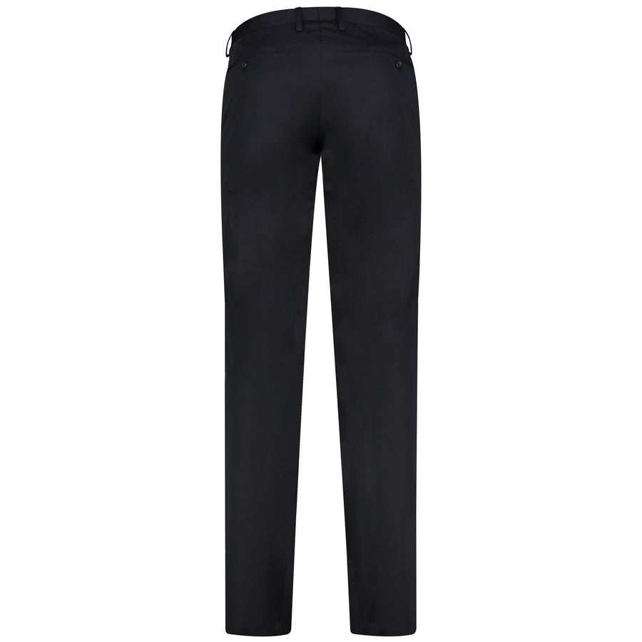 SARAR INTERVIEW Flat Slim Fit Solid Pants for Men