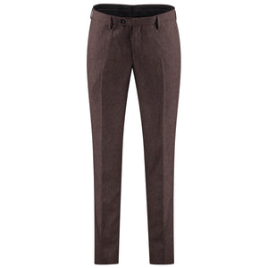 Dark red pants for men