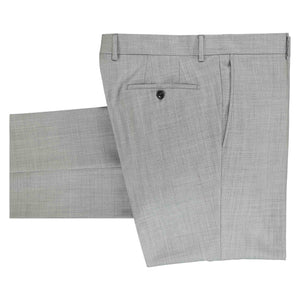 Folded light gray pants