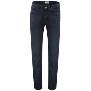 Slim fit blue jeans pants
