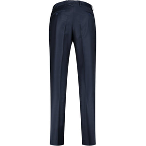 Back perspective for dark blue pants