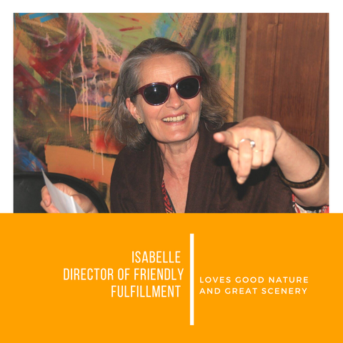 Isabelle SunButter™ Director of Fulfilment
