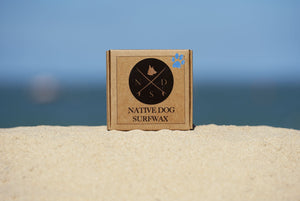 Native Dog Surfwax for Cold Water Surfing SunButter Oceans
