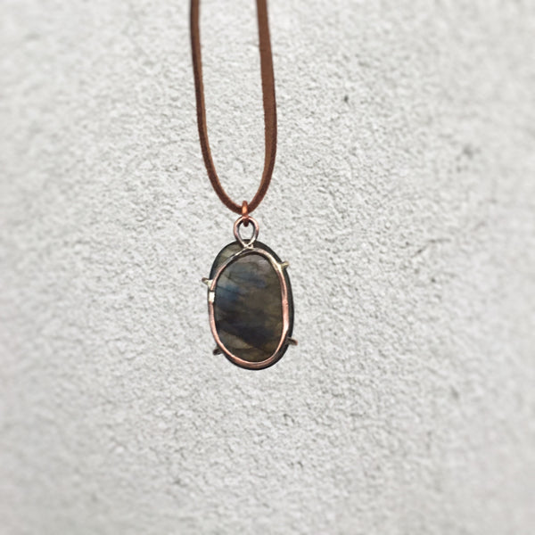 Labradorite Copper Necklace