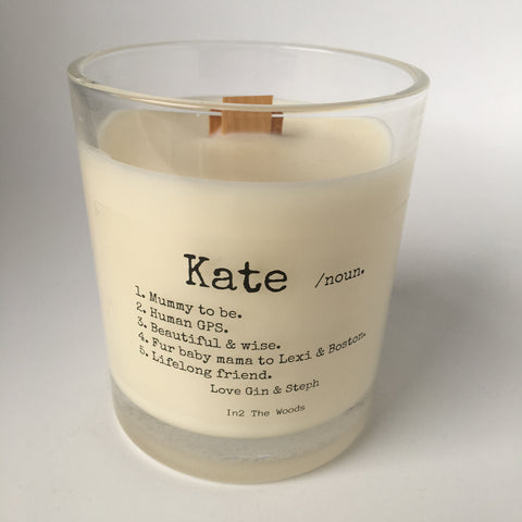 Personalised 'Name' Candle