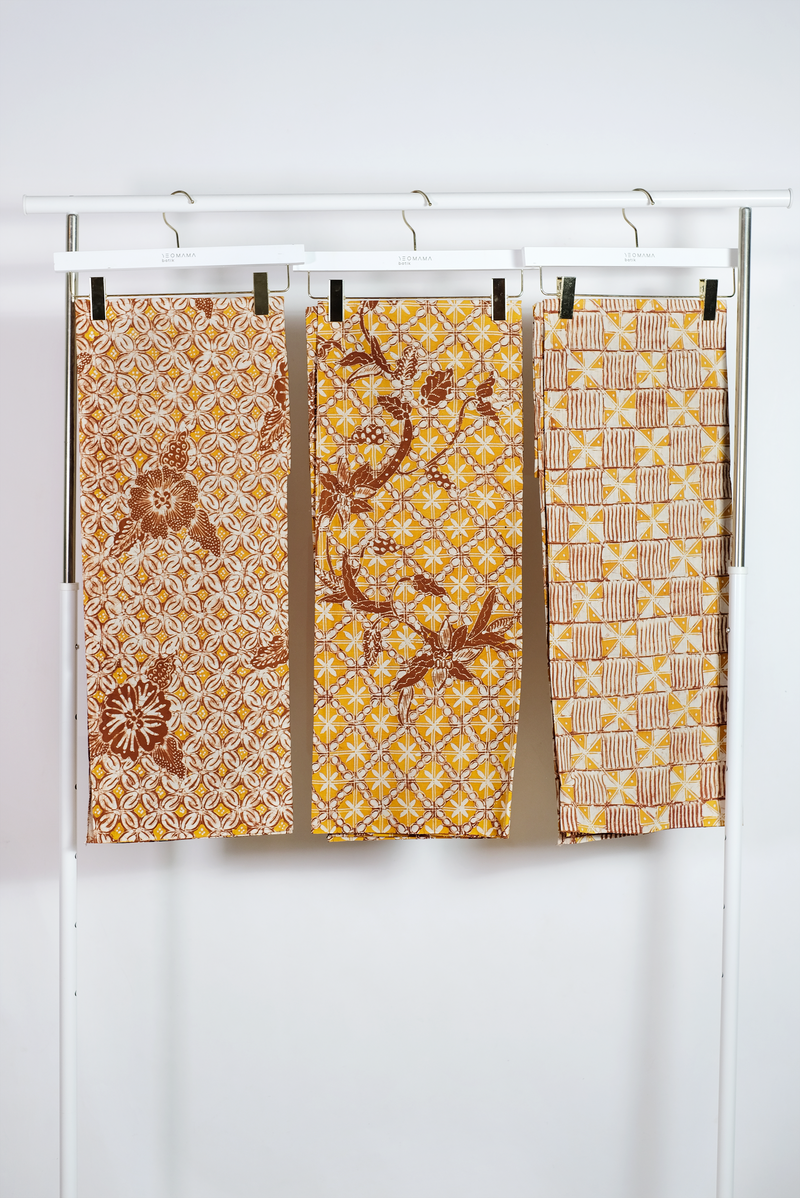 Champagne Quartz Batik Fabric Series