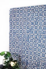 Aqua Quartz Batik Fabric Series