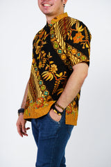 Black Truffle Batik Shirt