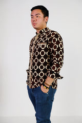 Dice Long Sleeves Batik Shirt
