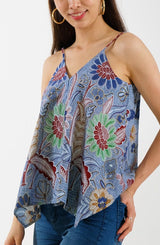 Mahjong Tiles Batik Shirt