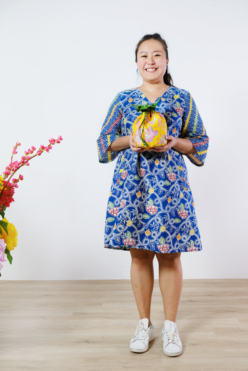 Dixie Batik Dress - Fruit Salad