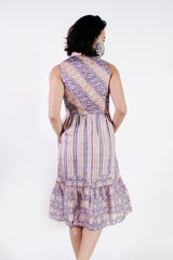 Kyoshi Batik Dress - Cherry Blossom