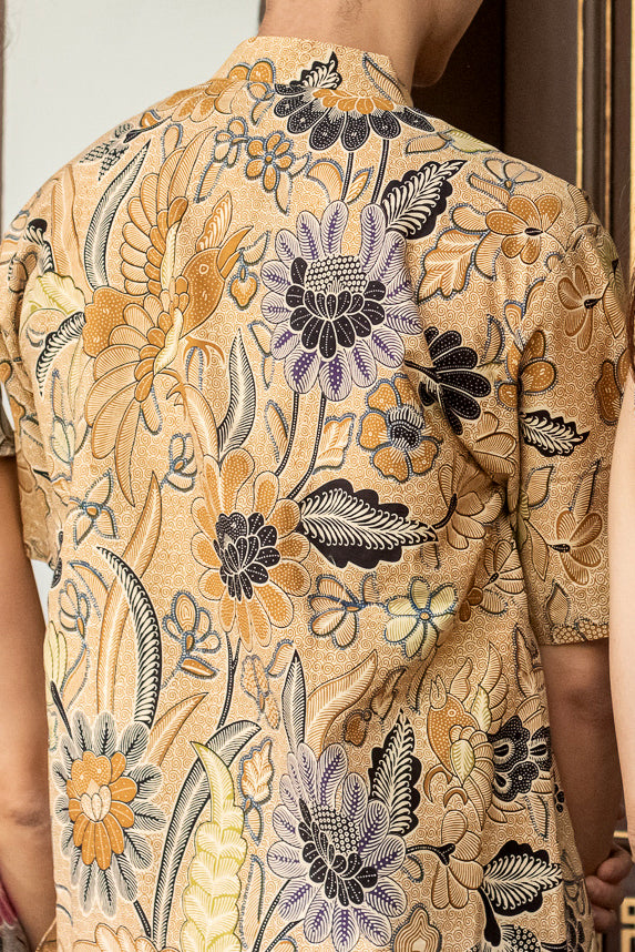 [Backorder] Golden Paradise Batik Shirt