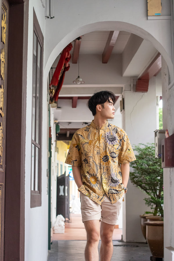 Golden Paradise Batik Shirt