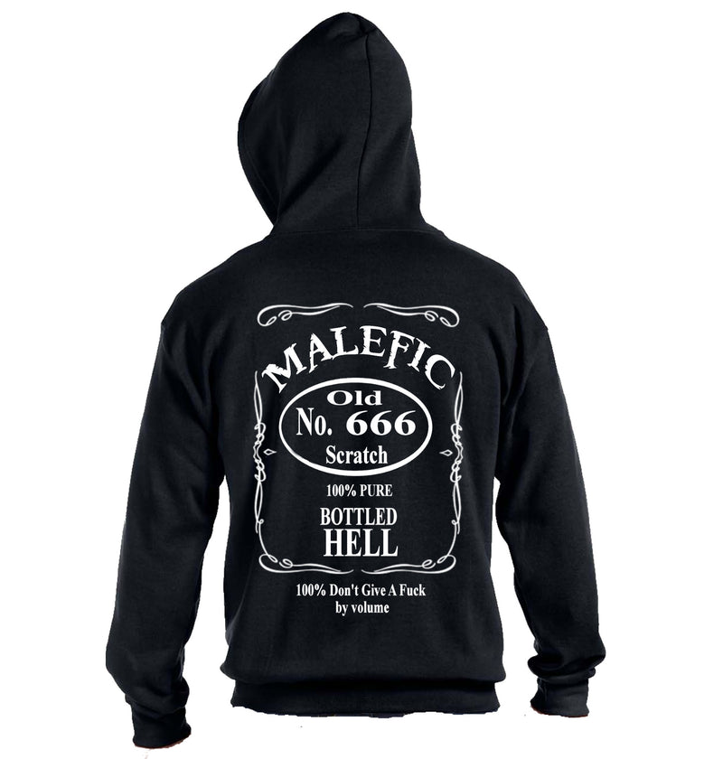 5th of Malefic Zip Up Hoodie - Heavy Weight