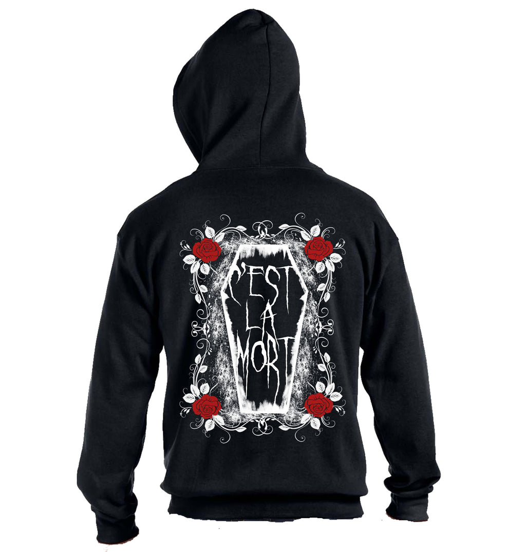 C'est La Mort Zip Up Hoodie - Heavy Weight