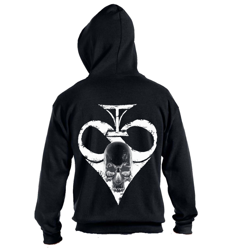 Death Spade Zip Up Hoodie - Heavy Weight