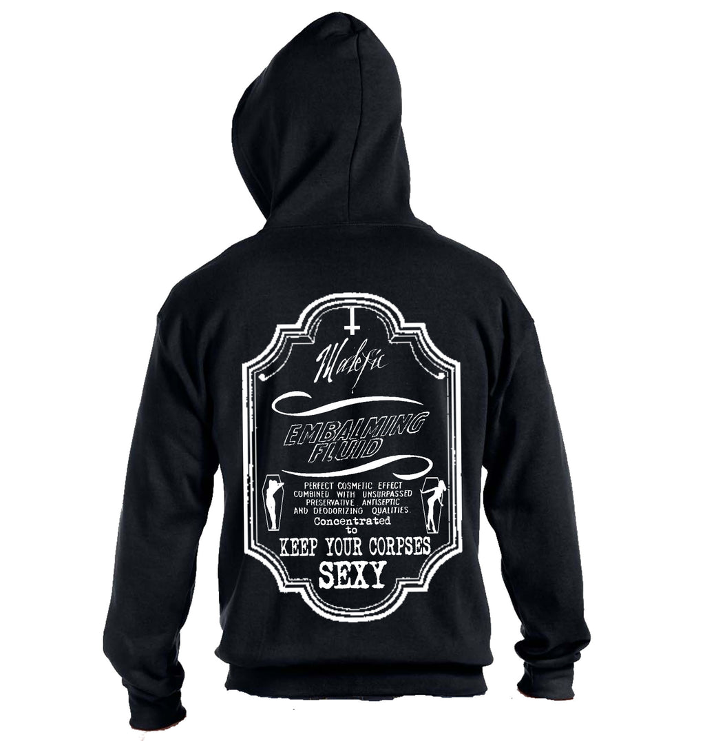 Embalming Fluid Zip Up Hoodie - Heavy Weight