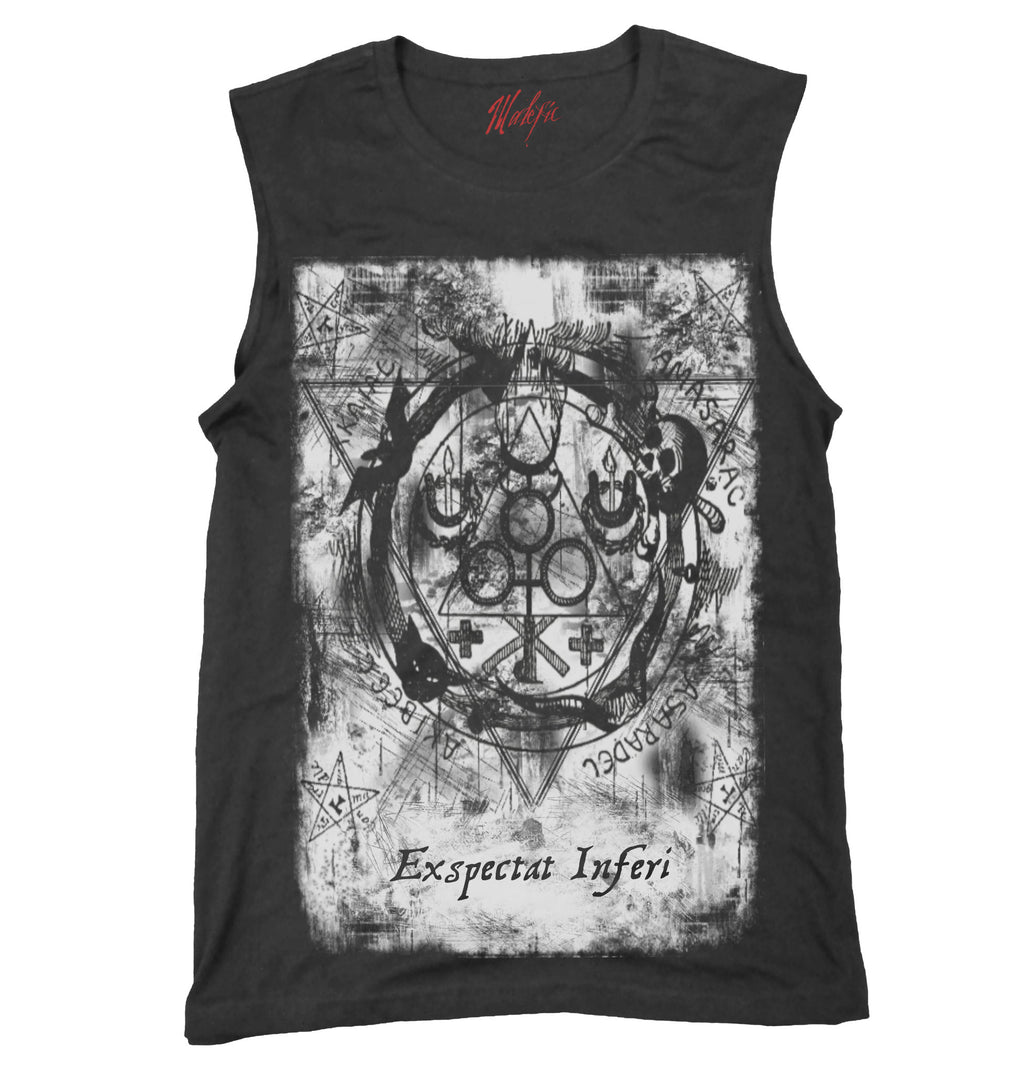 Goetic Circle Muscle Tank
