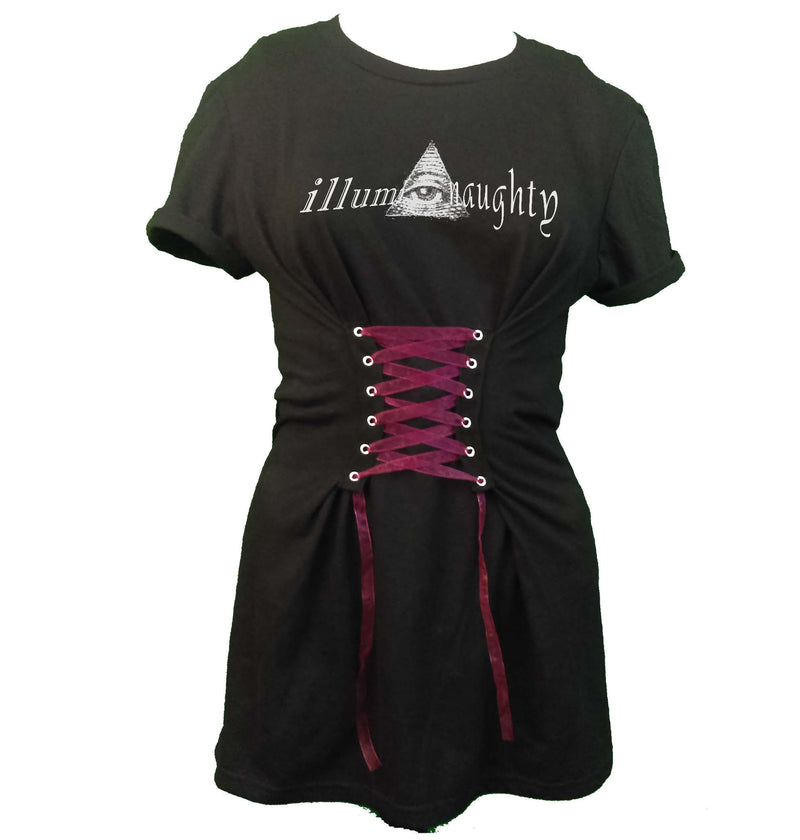 Corset Tee Dress - Illuminaughty